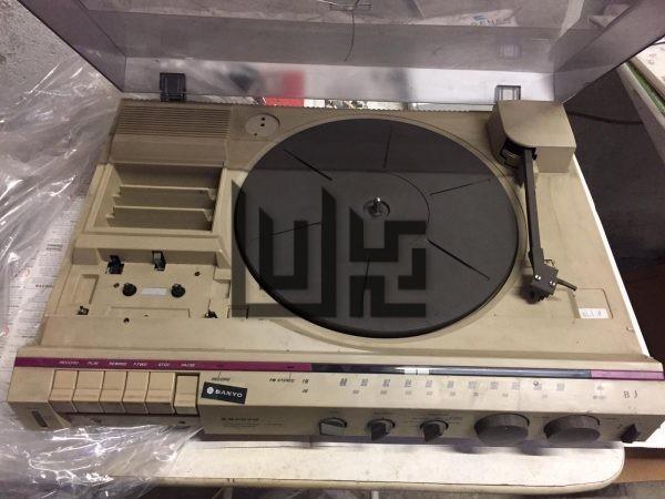 SANYO G1005 Stereo Music Centre & Retro Record Tuner Tape
