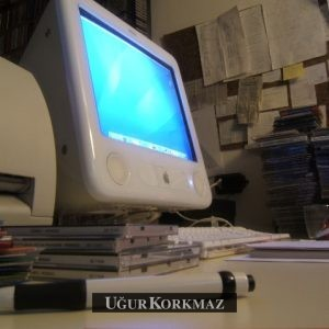 Vintage e-Mac Bilgisayar