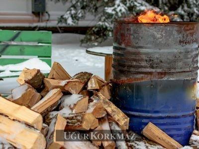 Bahçe'de Ateş Yakmak için Varil Önerileri ve Tasarımları